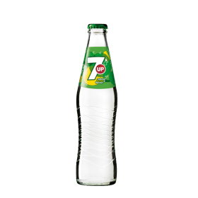 7UP flaska 33CL