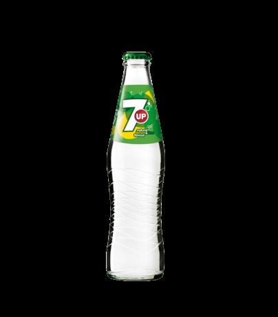 7UP flaska 33CL
