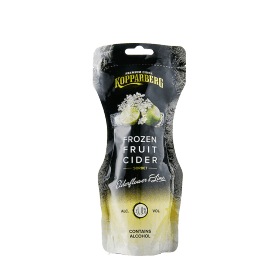 Frozen Fruit Cider Elderflower & Lime påse 25CL