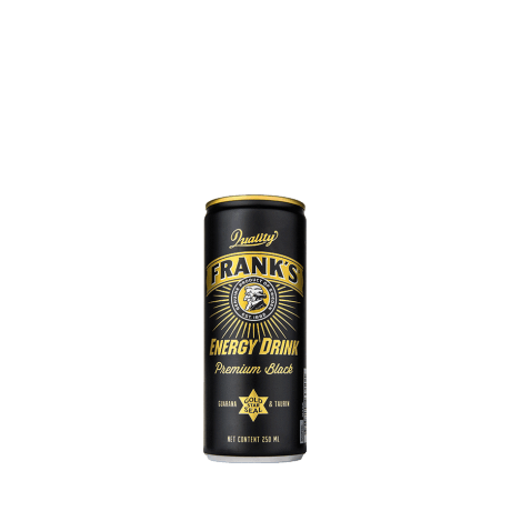Frank's Energy Black Edition burk 25CL