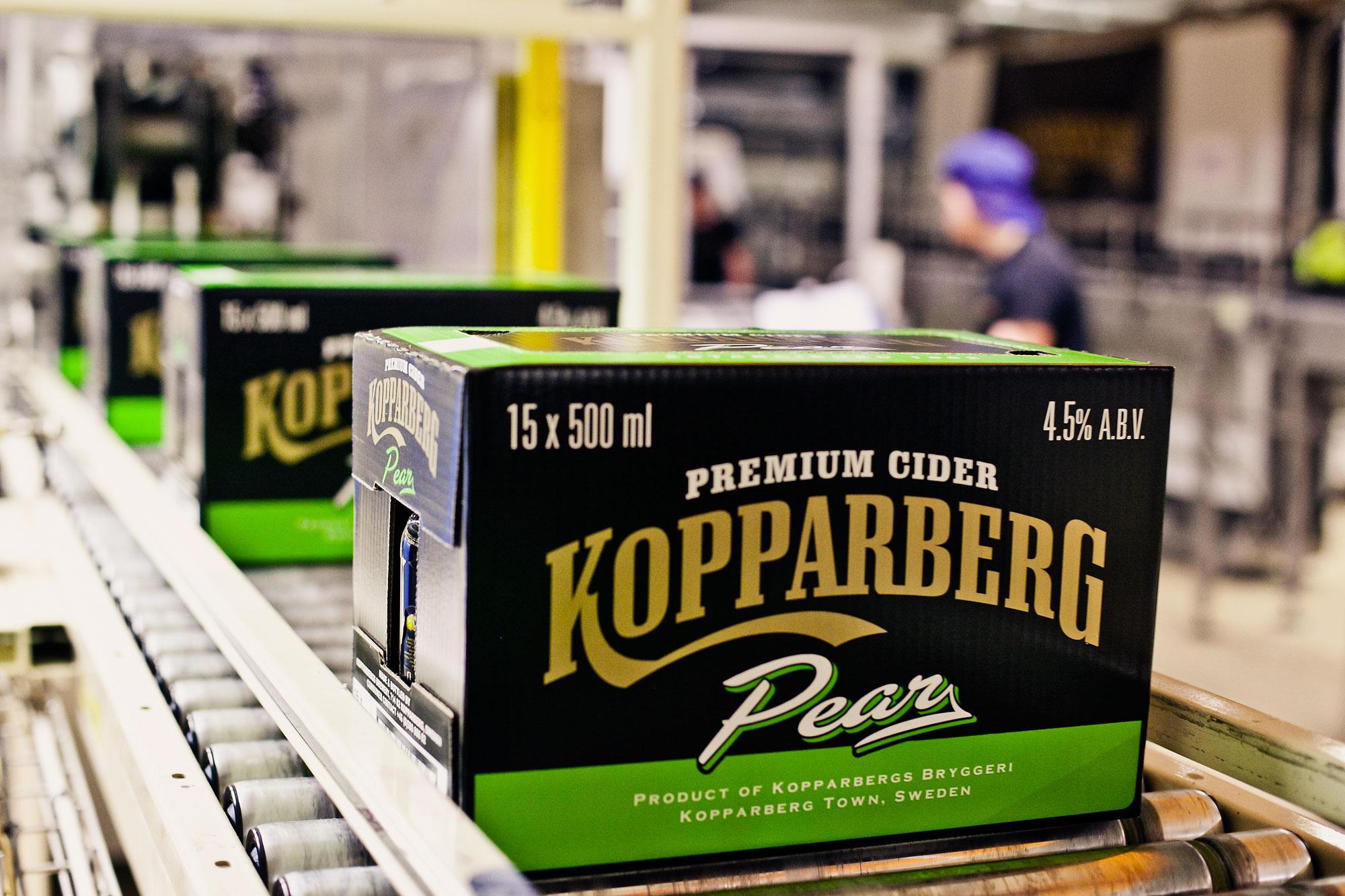 Kopparbergs bryggeri jobb