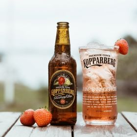 Kopparberg Strawberry&Lime Flaska 33CL