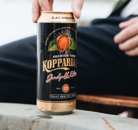 Kopparberg Strawberry&Lime Burk 50CL