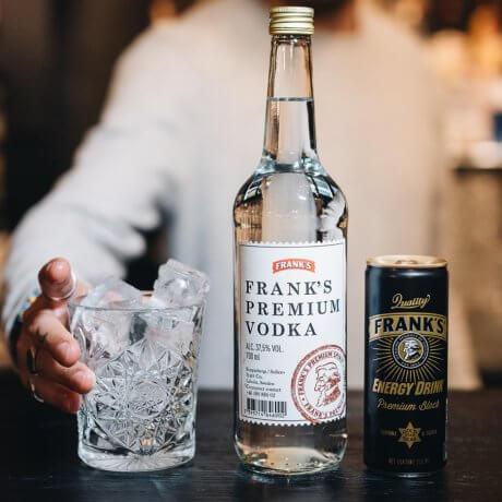Frank's Vodka flaska 70CL