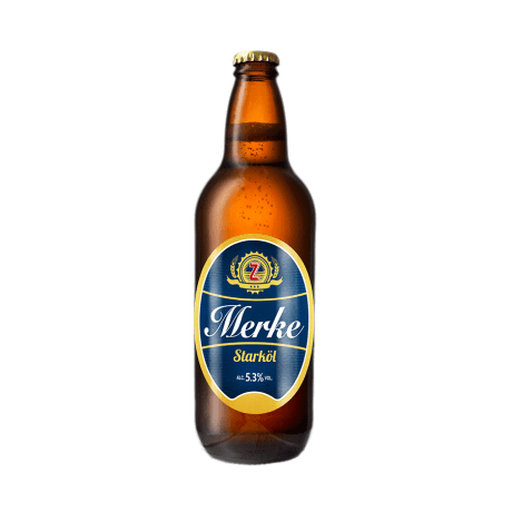 Zeunerts Merke flaska 50CL