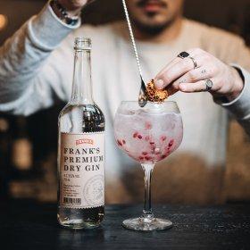 Frank's Premium Dry Gin flaska 70CL
