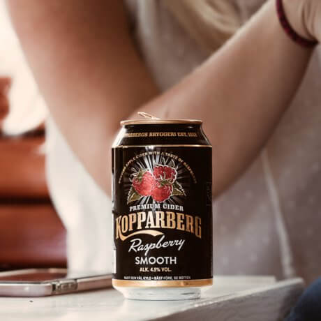 Kopparberg Raspberry Smooth burk 33CL