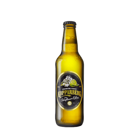 Kopparberg Fläder & Lime flaska 33CL