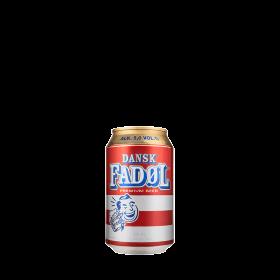 Dansk Fadøl burk 33CL