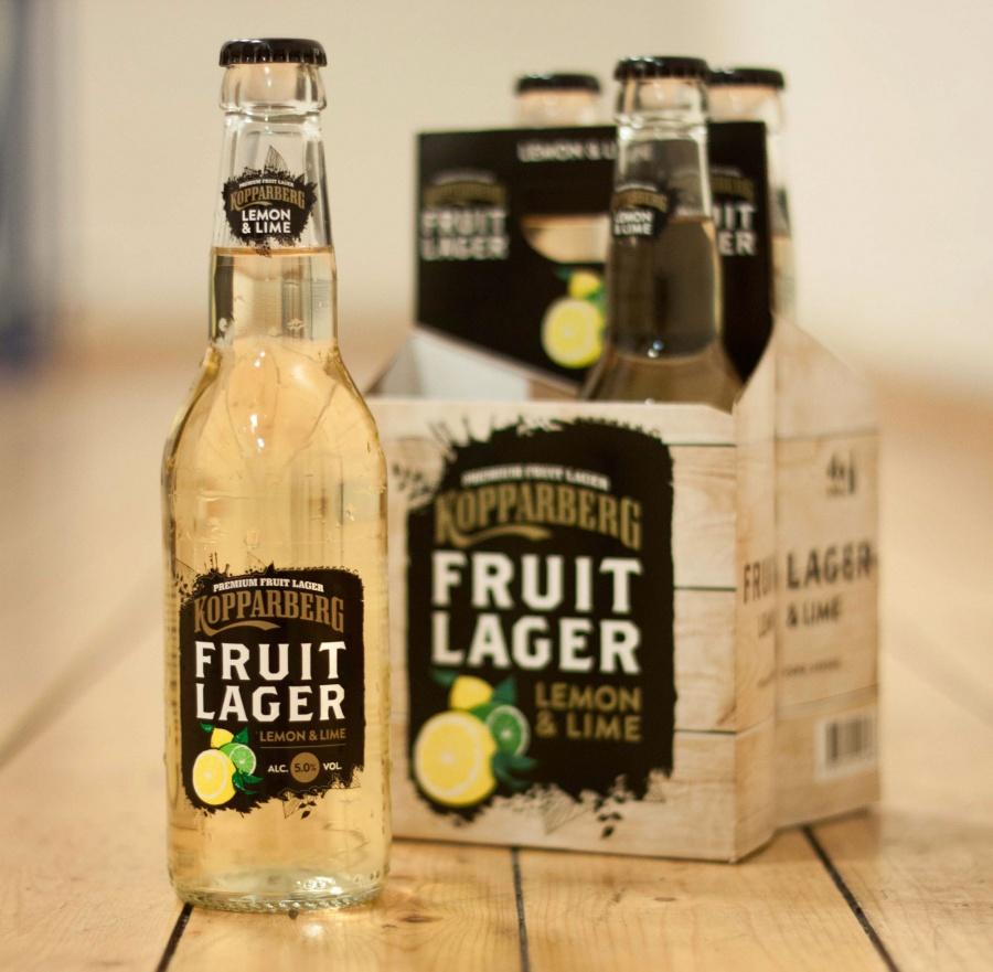 Nyhet! Kopparberg Fruit Lager