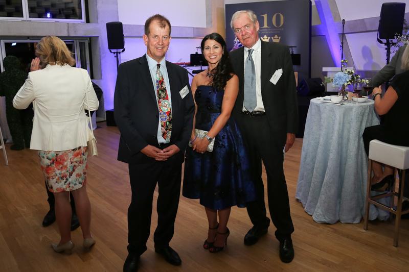Brand Sweden Award med Peter Bronsman, Meriam Alnaman och Carl-Erik Berg