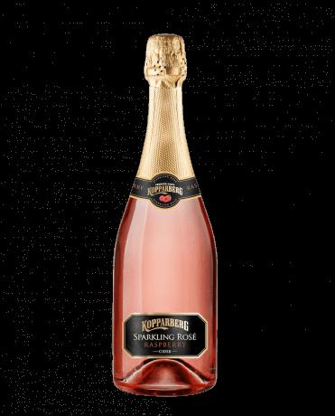 Sparkling Rosé Raspberry Glasflaska 75CL
