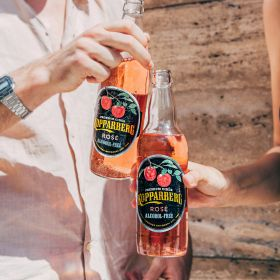 Kopparberg Rosé Alcohol-Free flaska 50CL