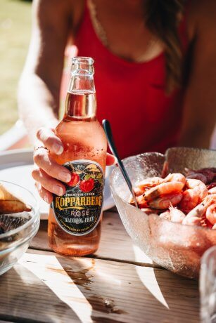 Kopparberg Rosé Alcohol-Free flaska 50CL