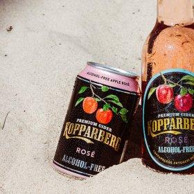 Kopparberg Rosé Alcohol-Free burk 33CL