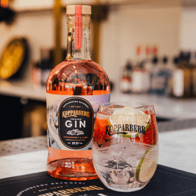 Kopparberg Gin Strawberry&Lime flaska 70CL