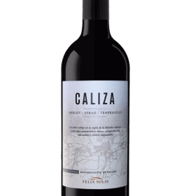 Caliza Merlot Shiraz Tempranillo flaska 70CL