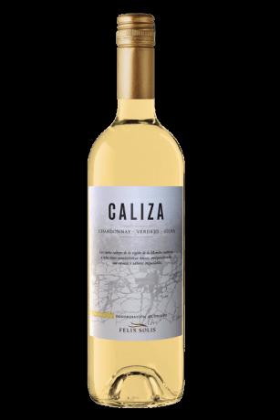 Caliza Chardonnay Verdejo Viura flaska 33CL