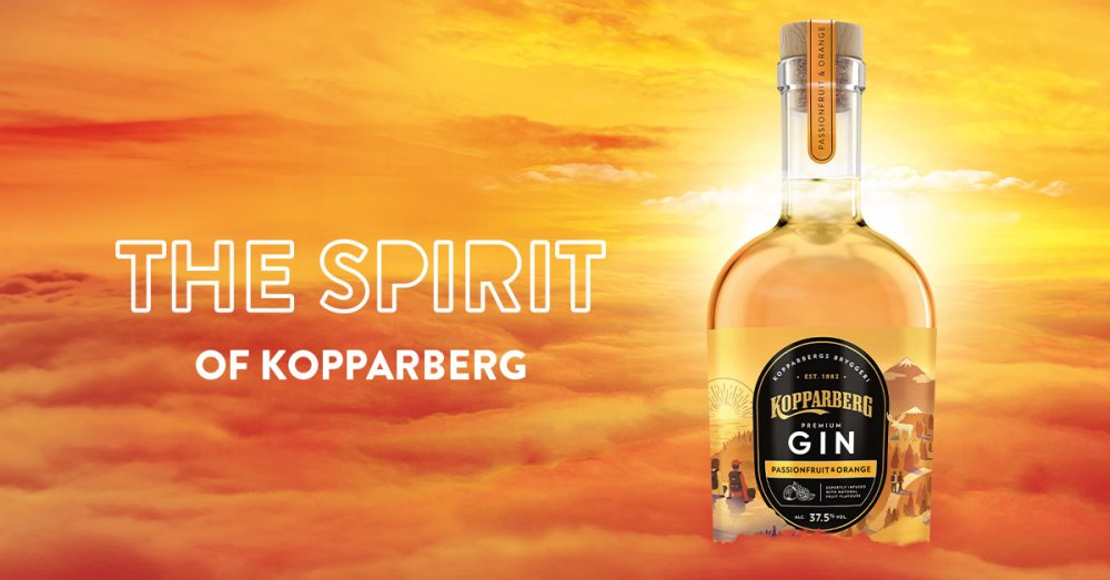 Kopparberg Gin med ny smak
