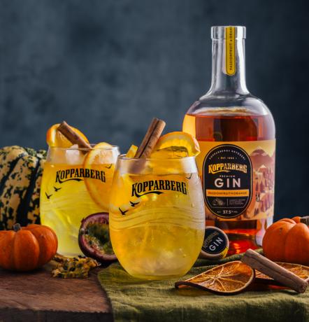Kopparberg Gin Passionfruit&Orange flaska 70CL
