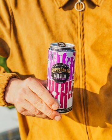 Kopparberg Hard Seltzer Black Cherry Sleek can 33CL