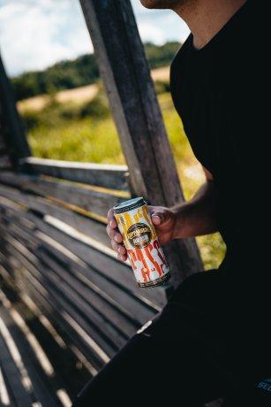 Kopparberg Hard Seltzer Passionfruit Sleek can 33CL