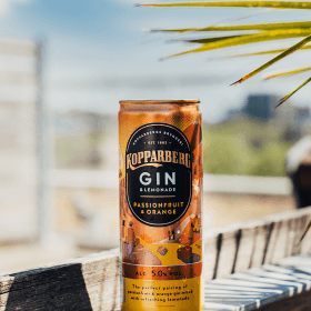 Kopparberg Gin&Lemonade Passionfruit&Orange Slim can 25CL