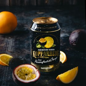 Kopparberg Passionfruit&Orange 4% burk 33CL