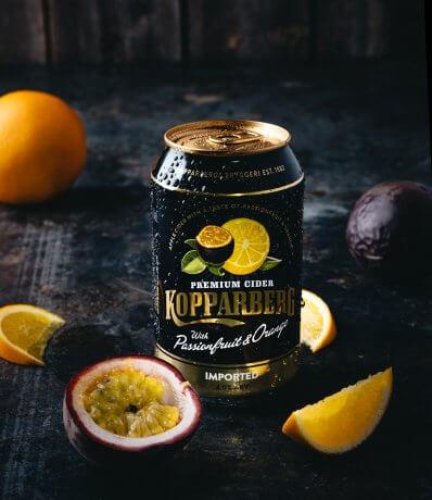Kopparberg Passionfruit&Orange burk 33CL