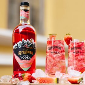 Kopparberg Vodka Strawberry&Lime flaska 70CL