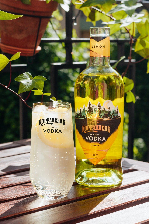 Lemon gör Strawberry&Lime sällskap i vodkahyllan