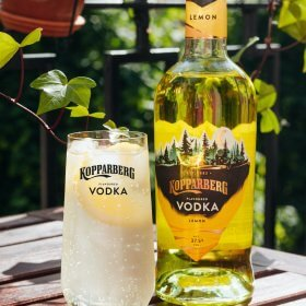 Kopparberg Vodka Lemon flaska 70CL